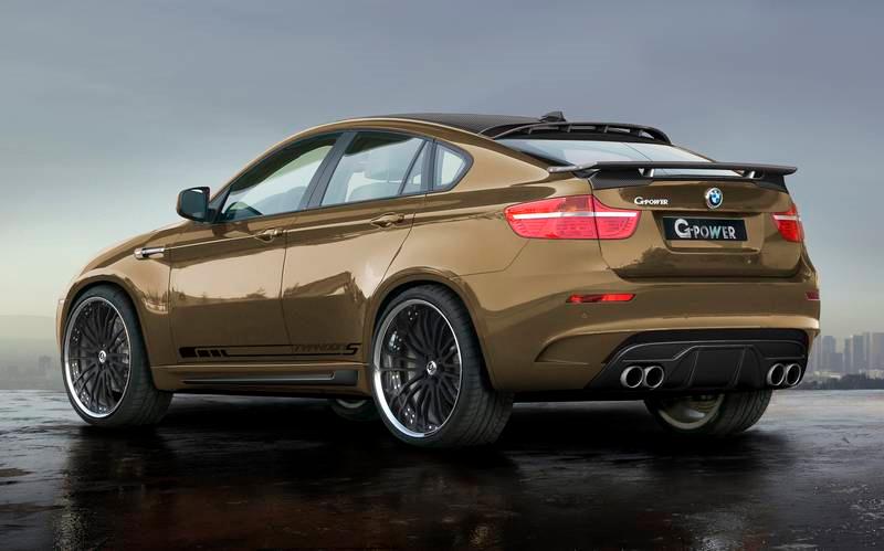 G-Power X5 M a X6 M Typhoon: agresivní a výkonná BMW: - fotka 4