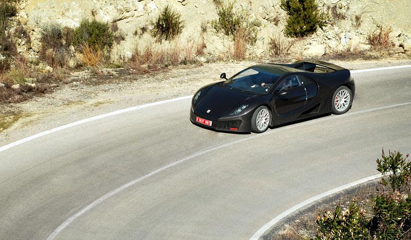 GTA Spano: 820 koní pro nový španělský supersport: - fotka 44