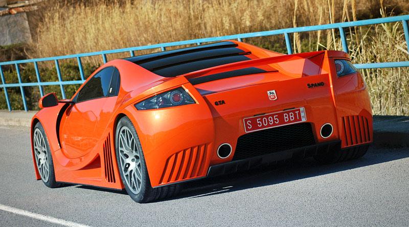 GTA Spano: 820 koní pro nový španělský supersport: - fotka 59