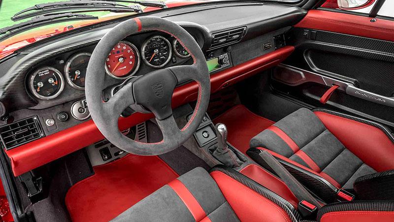 Další auto, o kterém můžete snít. Gunther Werks nabízí karbonovou 911: - fotka 1