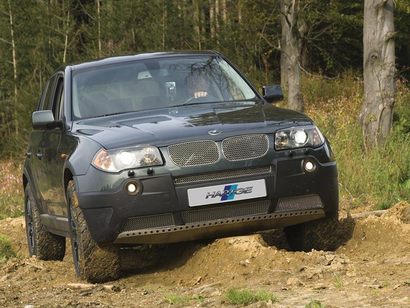 Hartge Hunter: BMW X3 připraveno na misi v terénu: - fotka 4