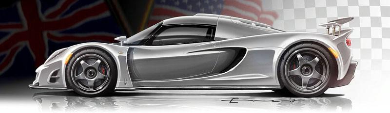 Hennessey Venom GT: 1200 koní se představí Ženevě: - fotka 3