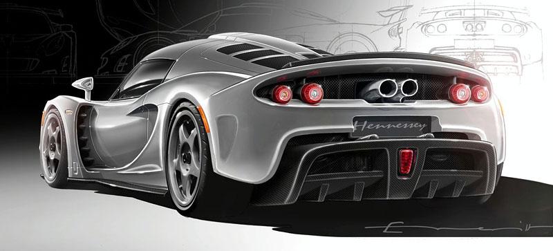 Hennessey Venom GT: 1200 koní se představí Ženevě: - fotka 4