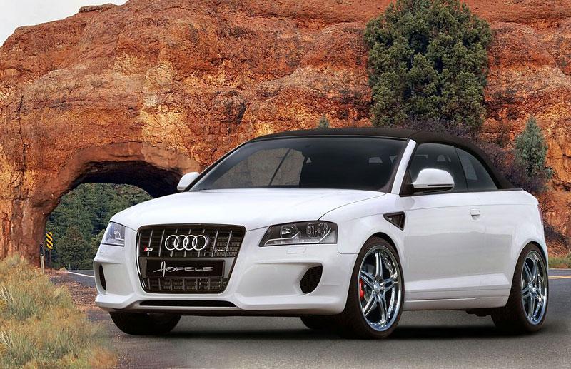Audi A3 Cabrio: sportovnější vzhled od Hofele: - fotka 1