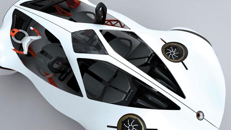 L.A. Design Challenge: 1000 lb car: - fotka 10