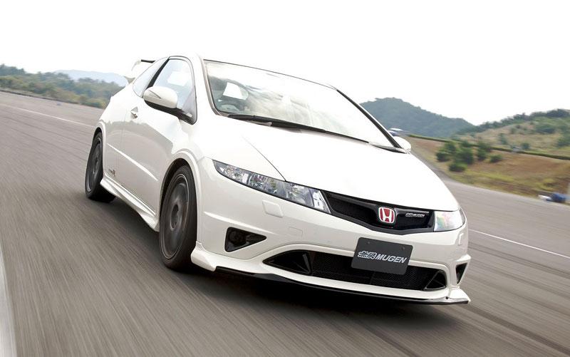 Honda Civic Type R Mugen 200: limitka pro UK: - fotka 3