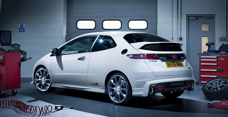 Honda Civic Type R Mugen 200: limitka pro UK: - fotka 8