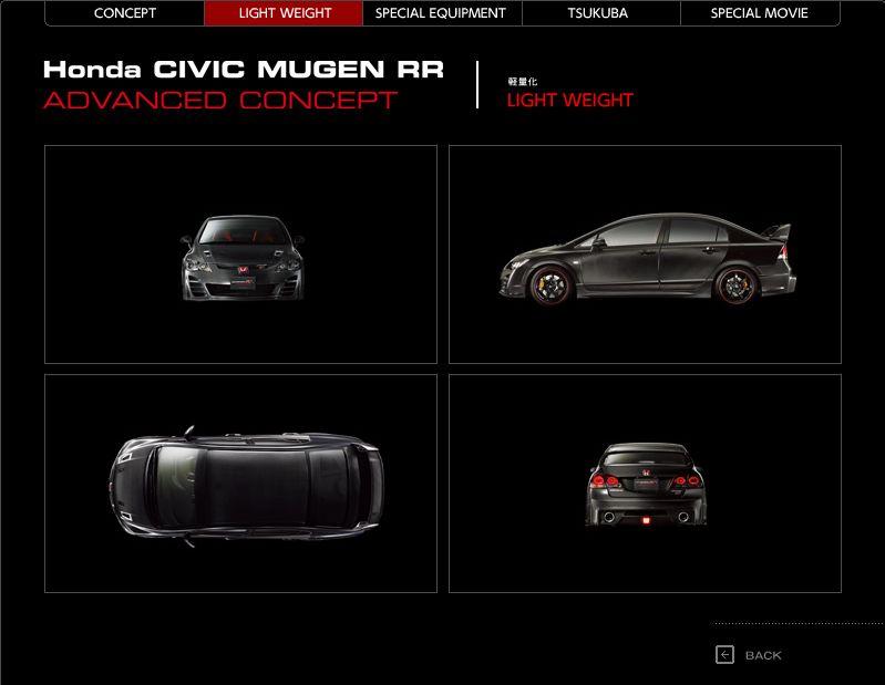 Mugen Civic RR Advanced Concept - Honda jako pírko: - fotka 6