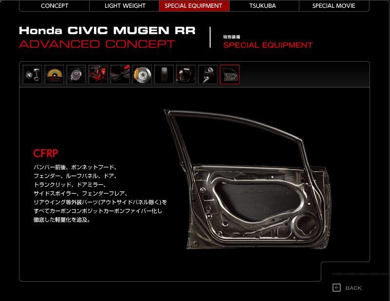 Mugen Civic RR Advanced Concept - Honda jako pírko: - fotka 11