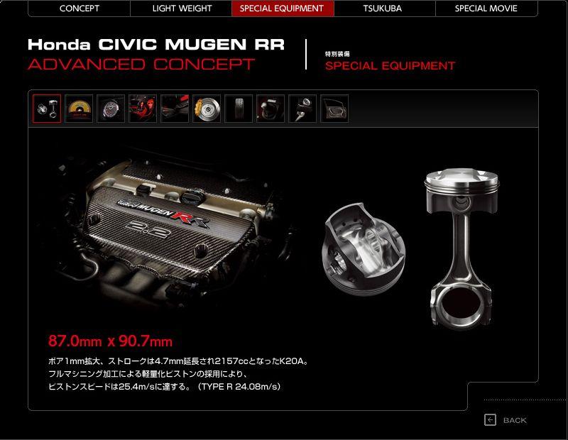 Mugen Civic RR Advanced Concept - Honda jako pírko: - fotka 12