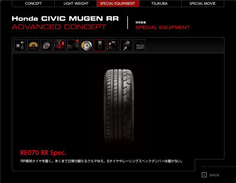 Mugen Civic RR Advanced Concept - Honda jako pírko: - fotka 16