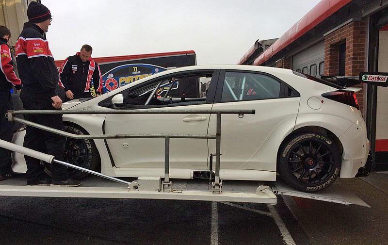 Honda připravuje Civic Type R pro britský šampionát cesťáků BTCC: - fotka 3