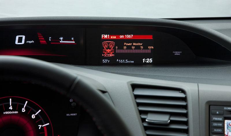 Honda Civic Si Coupe: ostrý civic pro Ameriku: - fotka 1