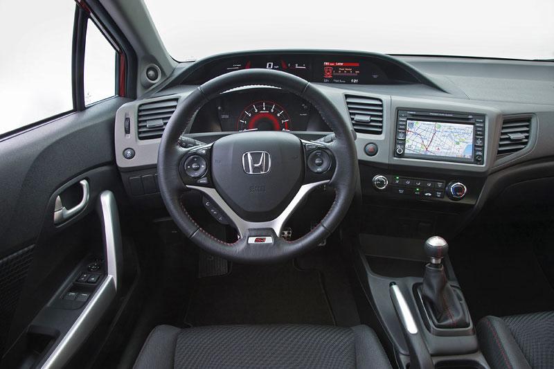 Honda Civic Si Coupe: ostrý civic pro Ameriku: - fotka 2