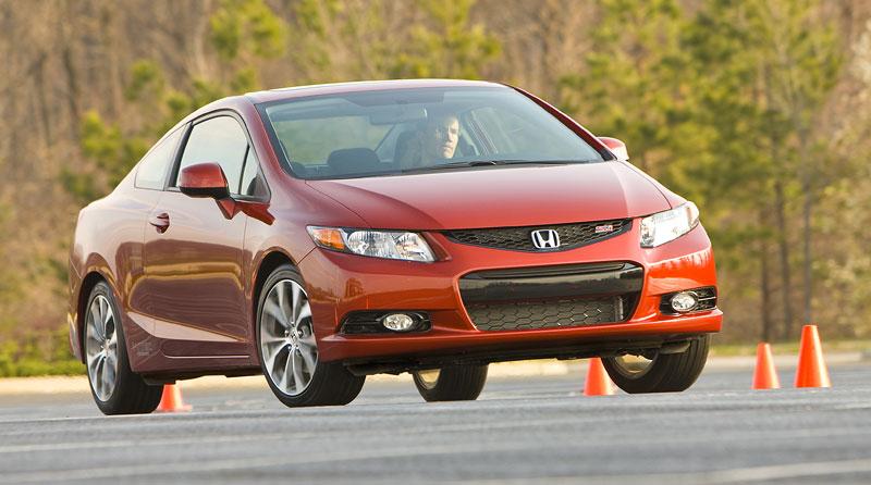 Honda Civic Si Coupe: ostrý civic pro Ameriku: - fotka 8