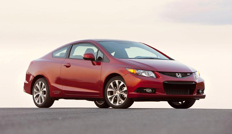 Honda Civic Si Coupe: ostrý civic pro Ameriku: - fotka 9