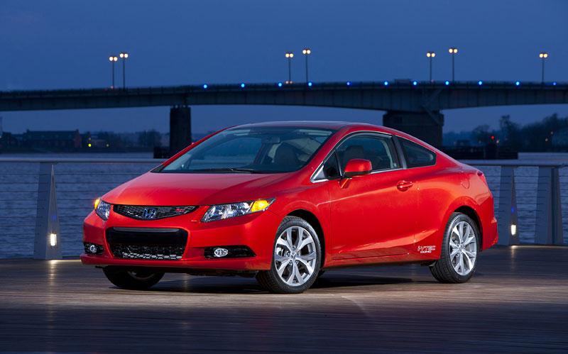 Honda Civic Si Coupe: ostrý civic pro Ameriku: - fotka 11