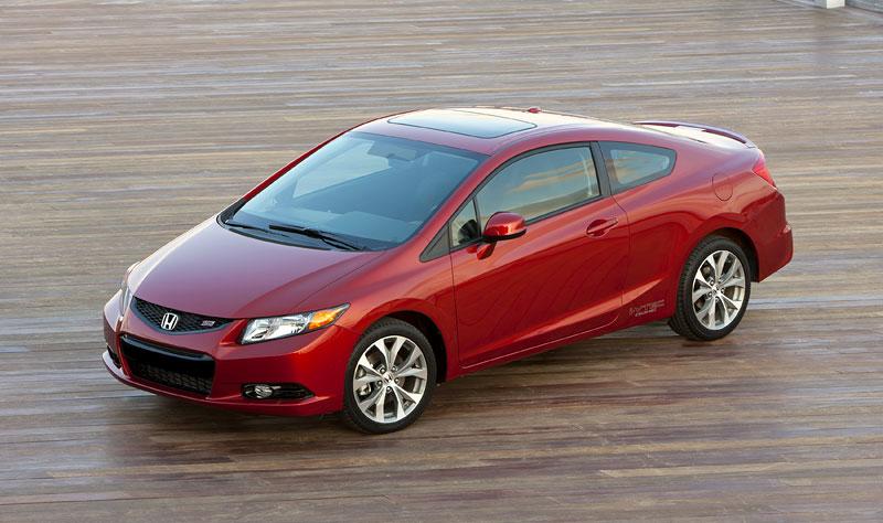 Honda Civic Si Coupe: ostrý civic pro Ameriku: - fotka 13
