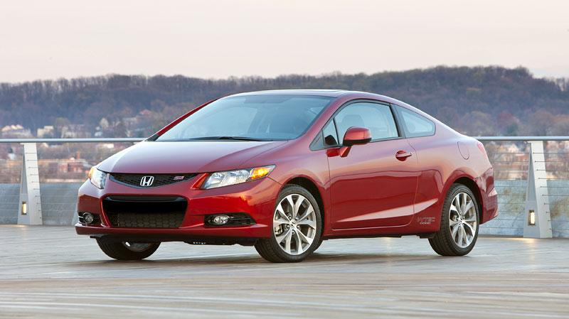 Honda Civic Si Coupe: ostrý civic pro Ameriku: - fotka 15