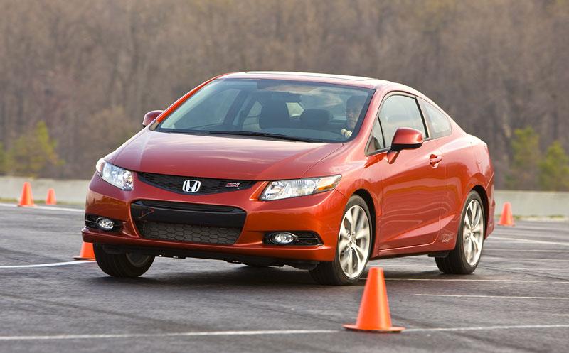 Honda Civic Si Coupe: ostrý civic pro Ameriku: - fotka 16