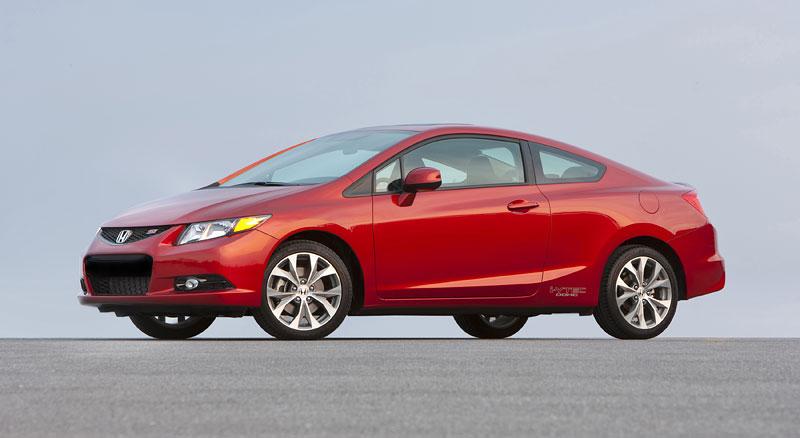 Honda Civic Si Coupe: ostrý civic pro Ameriku: - fotka 18