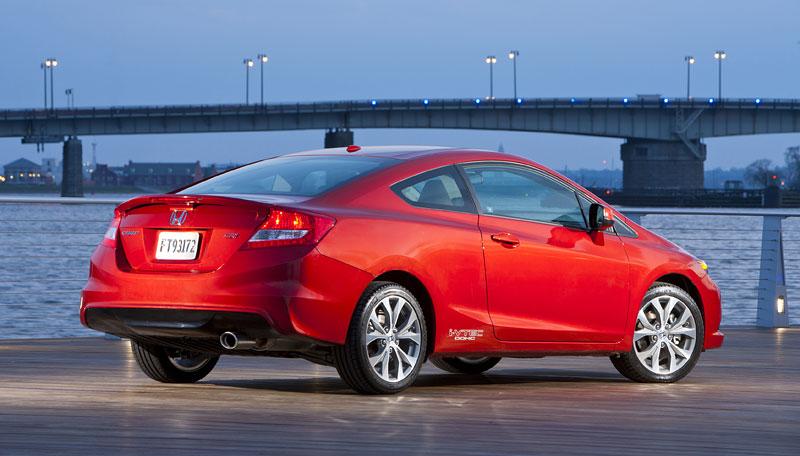 Honda Civic Si Coupe: ostrý civic pro Ameriku: - fotka 22