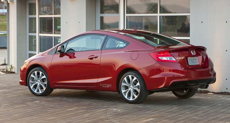 Honda Civic Si Coupe: ostrý civic pro Ameriku: - fotka 23