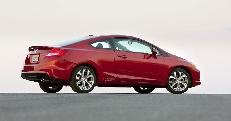 Honda Civic Si Coupe: ostrý civic pro Ameriku: - fotka 24