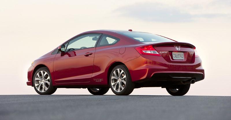 Honda Civic Si Coupe: ostrý civic pro Ameriku: - fotka 25