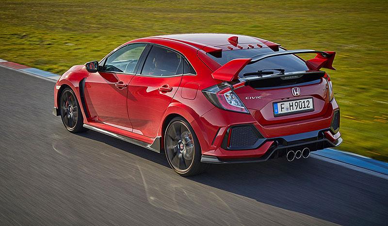 Příští Honda Civic Type R by mohla být 400koňový hybrid: - fotka 61