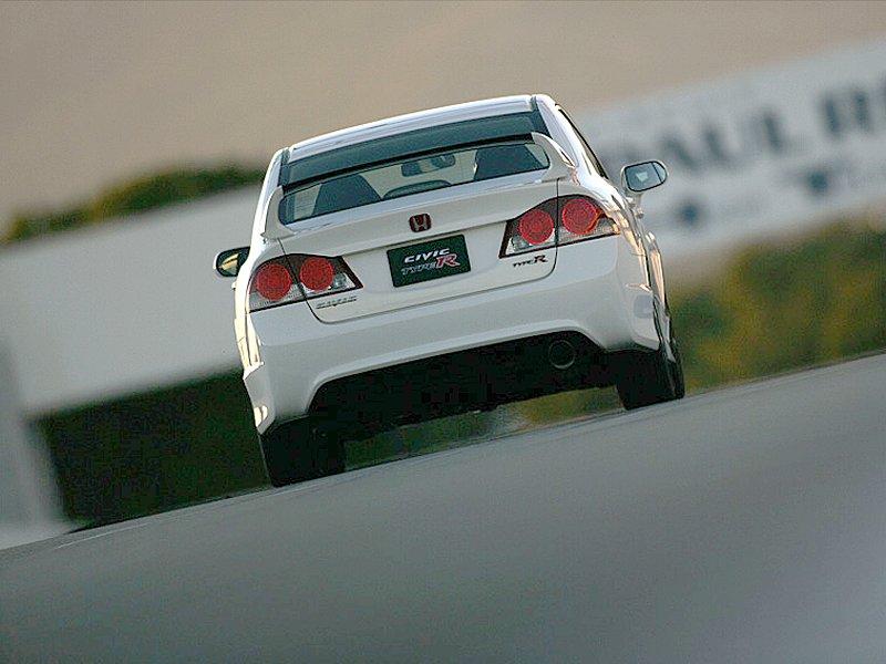 Sedan Honda Civic Type R se chystá na odpočinek: - fotka 9