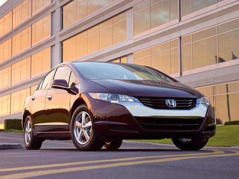 Honda FCX Clarity - S vodíkovým autem na závodní okruh: - fotka 19