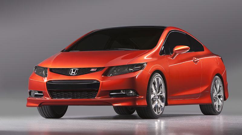 Detroit 2011: Honda Civic Si Coupe Concept: zpátky ve hře: - fotka 2