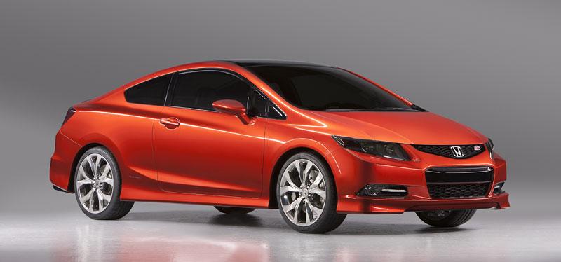 Detroit 2011: Honda Civic Si Coupe Concept: zpátky ve hře: - fotka 3