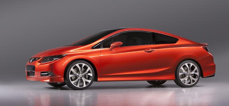 Detroit 2011: Honda Civic Si Coupe Concept: zpátky ve hře: - fotka 4