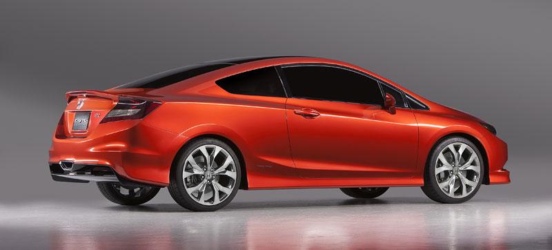Detroit 2011: Honda Civic Si Coupe Concept: zpátky ve hře: - fotka 5