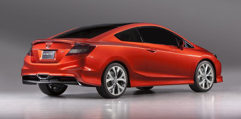 Detroit 2011: Honda Civic Si Coupe Concept: zpátky ve hře: - fotka 6