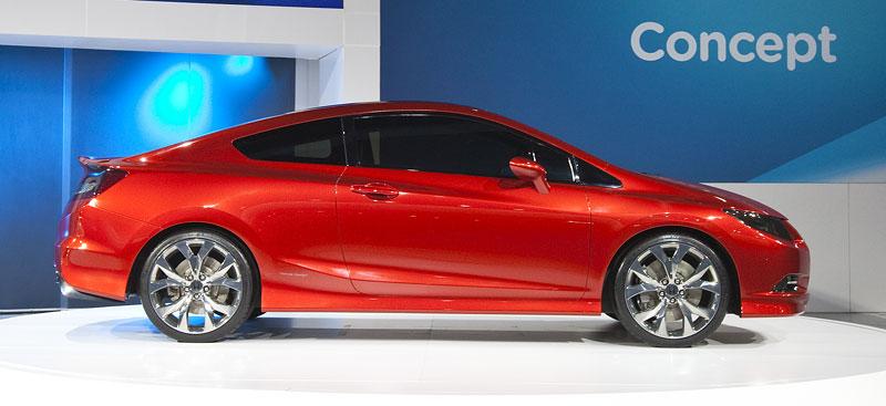 Detroit 2011: Honda Civic Si Coupe Concept: zpátky ve hře: - fotka 10