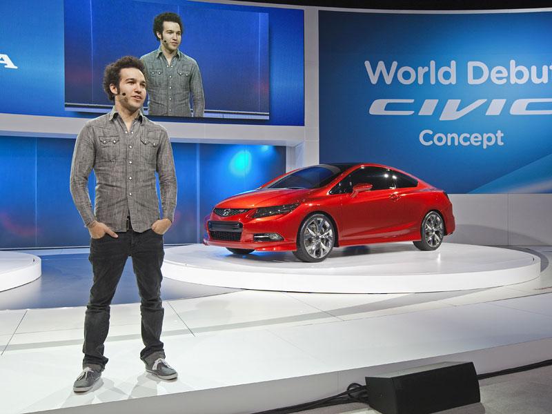 Detroit 2011: Honda Civic Si Coupe Concept: zpátky ve hře: - fotka 11