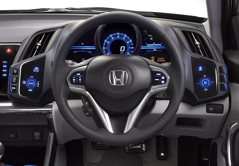 Tokio 2009: Honda CR-Z - manuální šestikvalt a motor 1.5: - fotka 1