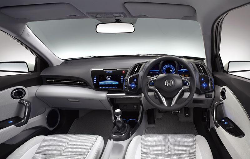 Tokio 2009: Honda CR-Z - manuální šestikvalt a motor 1.5: - fotka 2