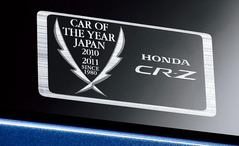 Honda CR-Z JCOTY Memorial Edition: decentní oslava vítězství: - fotka 2