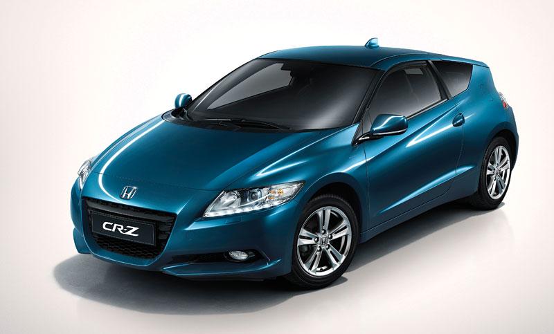 Ženeva 2010 živě: Honda CR-Z: Návrat legendy: - fotka 38