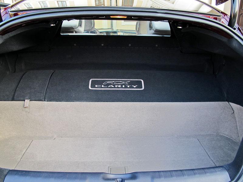 Za volantem: Honda FCX Clarity: - fotka 23