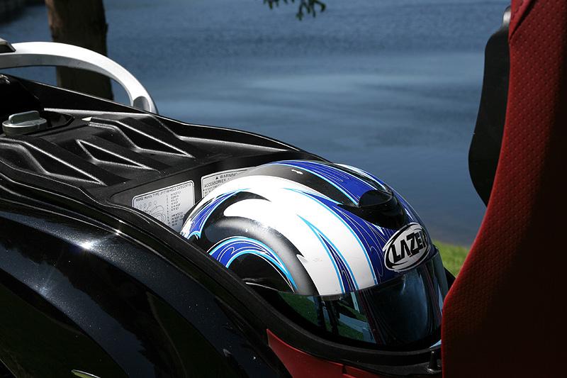 Test: Honda PS125i - moderna nebo retro?: - fotka 7