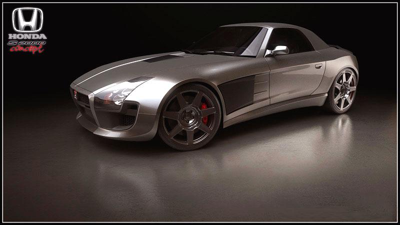 Honda S2000 Coupe Concept: - fotka 1
