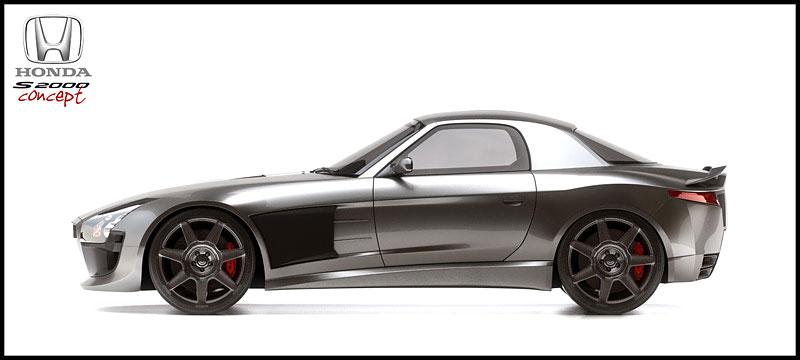 Honda S2000 Coupe Concept: - fotka 2