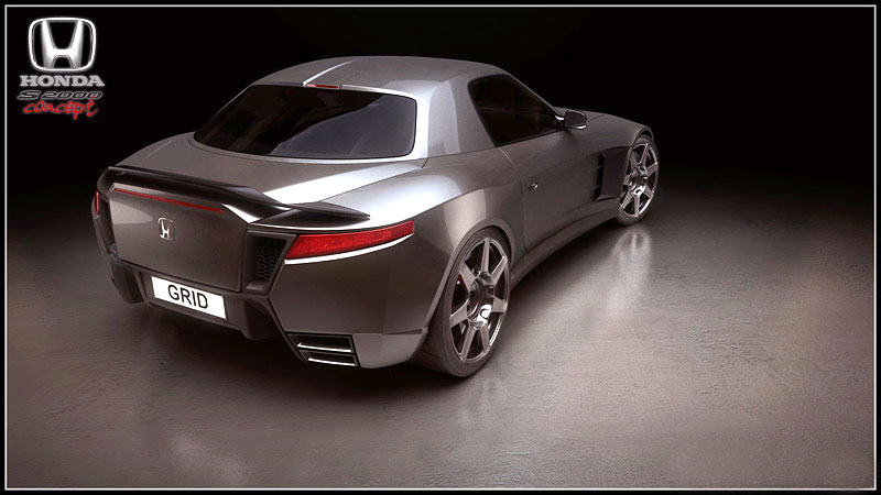 Honda S2000 Coupe Concept: - fotka 3