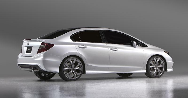 Detroit 2011: Honda Civic Si Coupe Concept: zpátky ve hře: - fotka 18