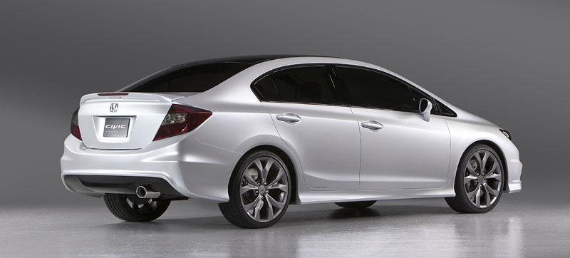 Detroit 2011: Honda Civic Si Coupe Concept: zpátky ve hře: - fotka 19